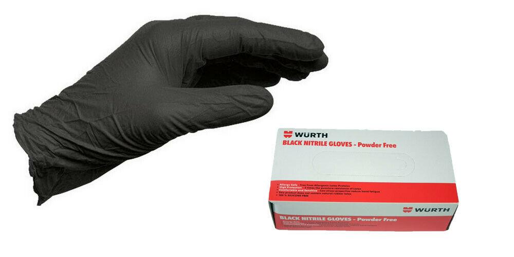 Disposable gloves powder free