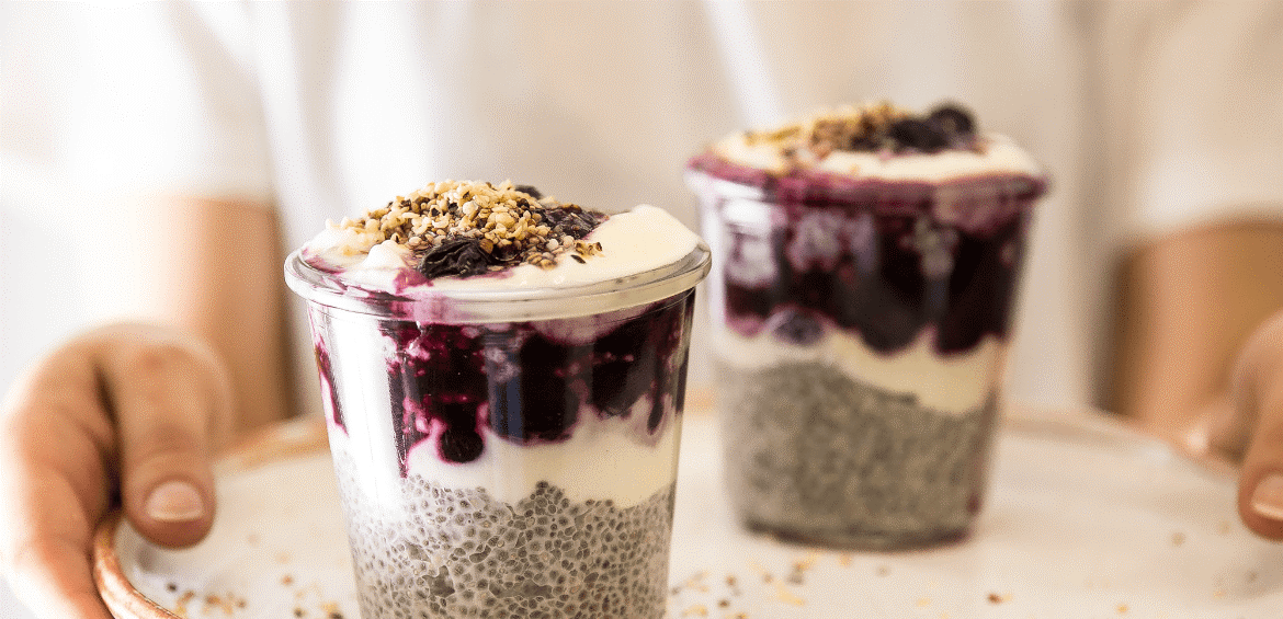 Recipe | Vanilla and Hemp Chia Parfait