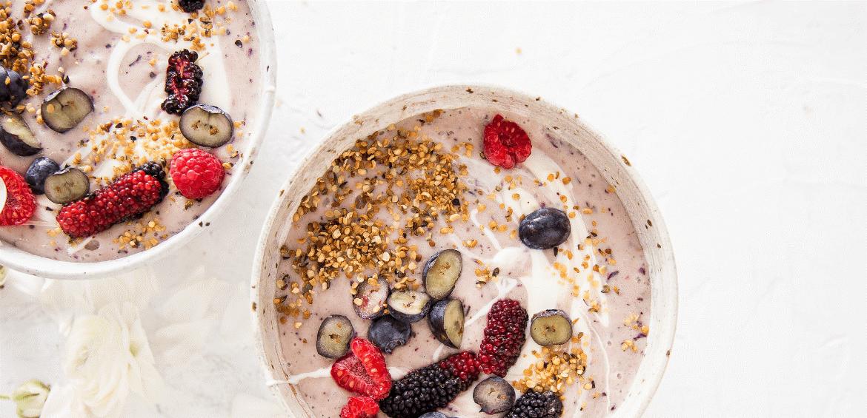 Recipe | Banana, Blueberry & Hemp Smoothie
