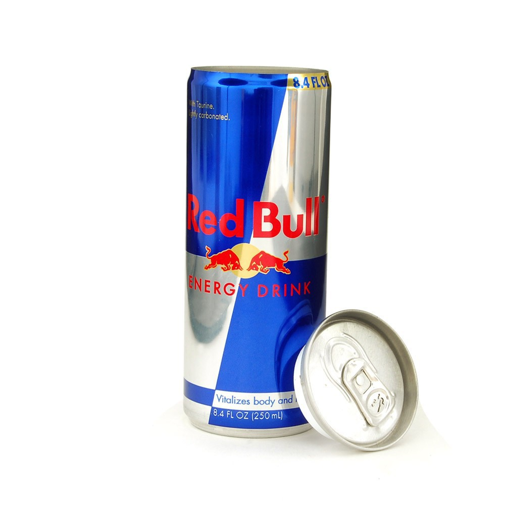 Red Bull Diversion Safe Can - 250ml & 423ml