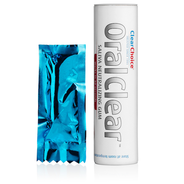 Oral-clear-saliva-neutralizing-gum